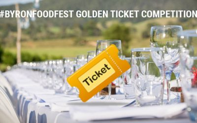 #ByronFoodFest Golden Ticket Competition