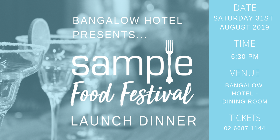 Sample 2019 Launch Dinner Announced…
