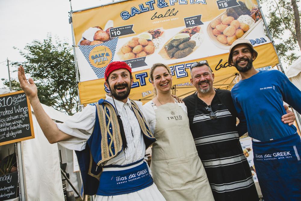 Sample Food Festival Restaurant